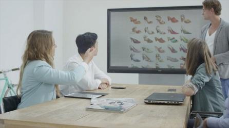 Bardziej interaktywne zebrania dzięki aplikacji Touch Display Link 2.0 oraz monitorom BIG PAD firmy Sharp
