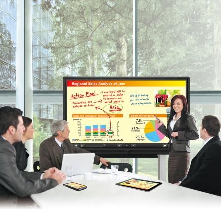 Firma Sharp zamierza wywrzeć niezatarte wrażenie na Targach ISE, prezentując monitor 4K i telebim z kalibracją kolorów